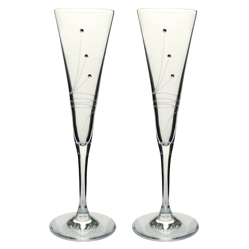 2ea890b36a7c3 Poháre | Swarovski poháre 1 na šampanské 120 ml | Víno stojany | E ...